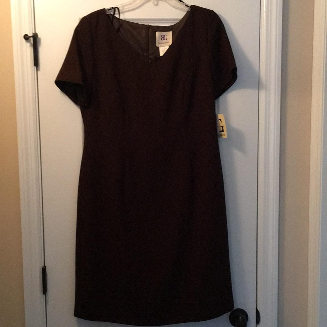Bahari group dress- brown