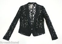 Bailey 44 Bailey Black Lace Blazerjacket Style 501-5157