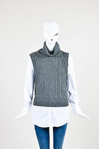 Bailey 44 White Cotton Wool Top Gray