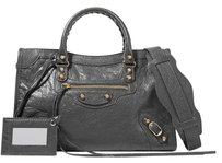 Balenciaga Classic City New Lambskin Shoulder Bag