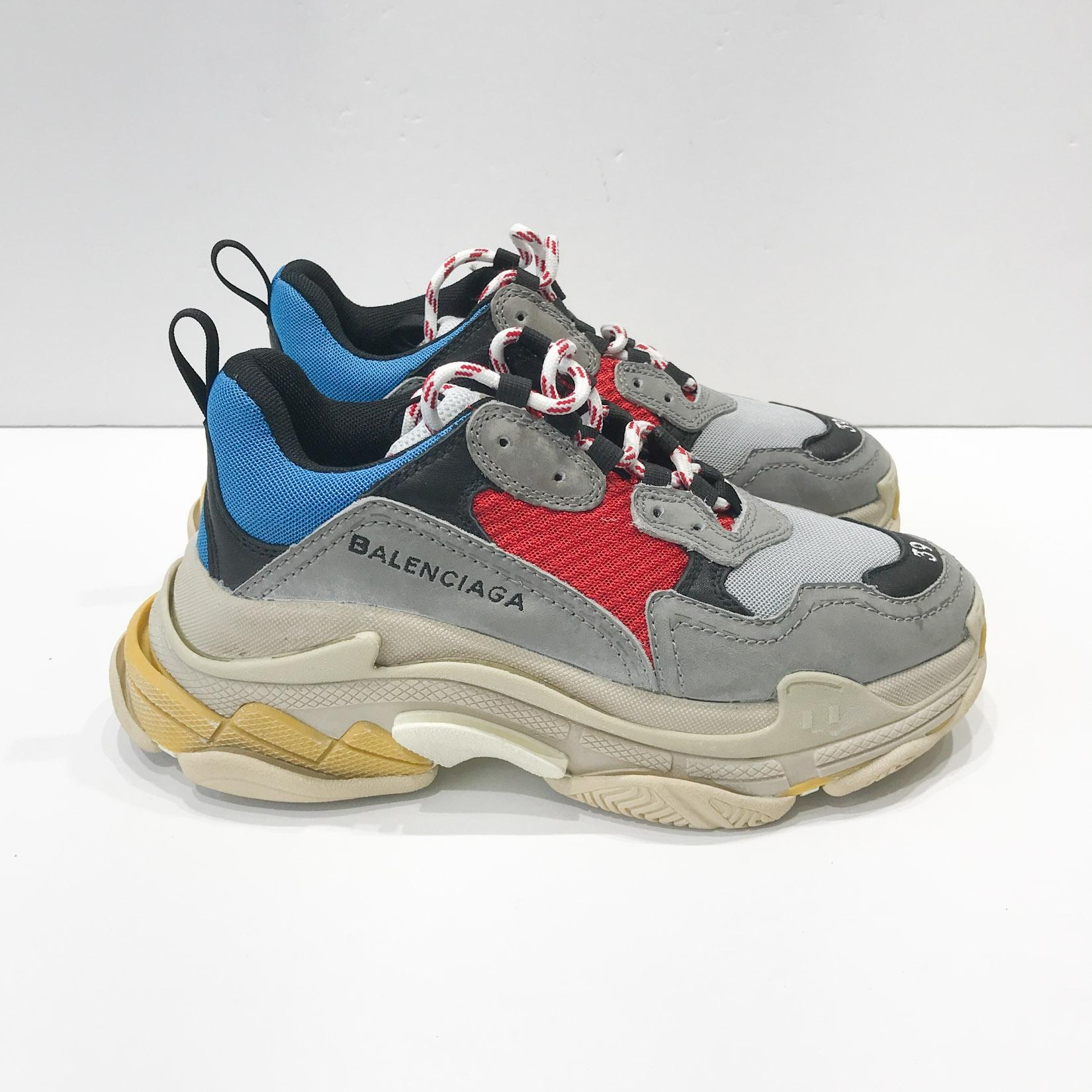 Balenciaga Triple S Trainer White Mount Mercy University