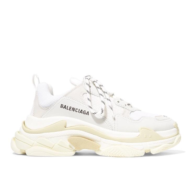 Balenciaga Triple S Suede Leather Dad Sneakers Sneakers Size US 10 Regular (M, B)