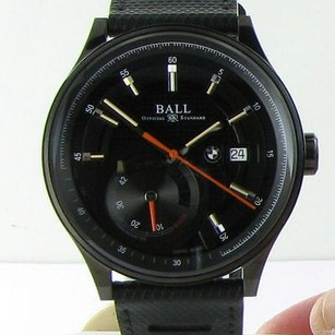 Ball Ball For Bmw Power Reserve Automatic Watch Pm3010c-p1cfj-bk Black Dlc