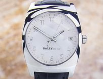 Bally Bally Mens Swiss Made Stainless Steel Luxury Quartz Watch C 2000 Dx9