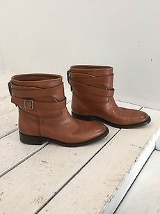 Bally Brown Leather Boots