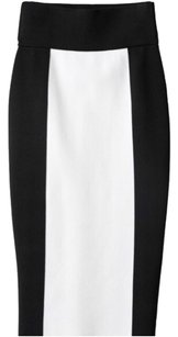 Balmain x H&M Skirt Black and white