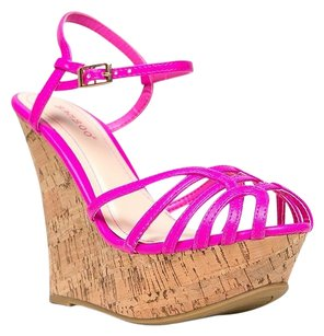 Bamboo Pink Wedges