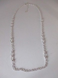 Banana Republic Banana Republic Silver Link Chain Layering Necklace