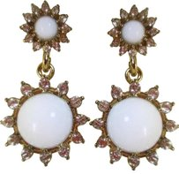 Banana Republic Banana republic Whitestone Daisy drop earrings