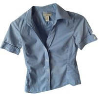 Banana Republic Button Down Button Down Shirt Blue
