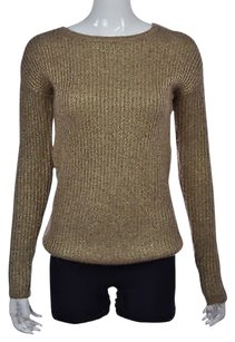 Banana Republic Womens Gold Crewneck Sweater