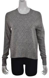 Banana Republic Womens Speckled Crewneck Cotton Sweater