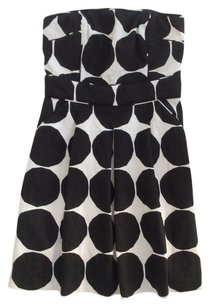 Banana Republic short dress Black and white Limited Edition on Tradesy
