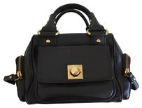 Banana Republic Tote in Black with Gold Hardware