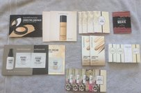 bareMinerals NEW Bare Escentuals Minerals HUGE Sample Lot - Moxie, Foundation