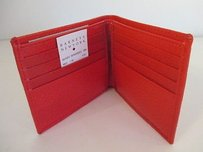 Barneys New York Barneys York Britain Red P224 Fold Over Wallet