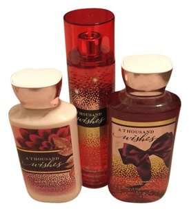 Bath and Body Works Bath and Body Works Thousand Wishes Lot Price Firm