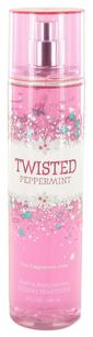 Bath and Body Works TWISTED PEPPERMINT by BATH & BODY WORKS Fine Fragrance Mist 8 oz