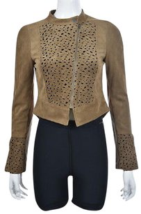 BCBGMAXAZRIA Bcbg Max Azria Womens Brown Multi-Color Jacket