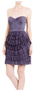 BCBGMAXAZRIA Strapless Drape Night Out Date Night Bustier Dress