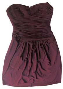 BCBGMAXAZRIA Bcbg Bcbg Burgundy Dress