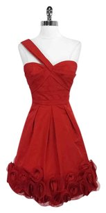 BCBGMAXAZRIA One Shoulder Embellished Dress