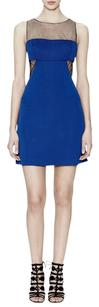 BCBGMAXAZRIA Open Back Shift Dress
