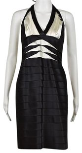 BCBGMAXAZRIA Bcbg Maxazria Womens Black Dress