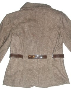 BCX NWT BCX Women's Career Skirt~9 Suit~M Set M Brown Lining Belted NEW