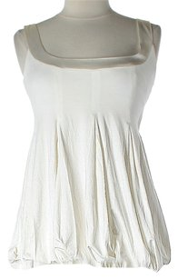 bebe short dress White/Ivory Ruched on Tradesy