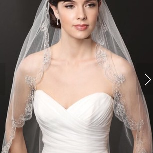Ivory/Champagne Medium Bridal Veil