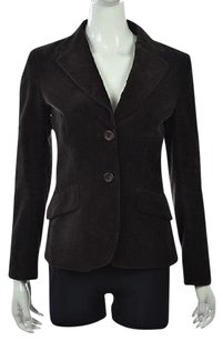 Bernardo Womens Leather Brown Jacket