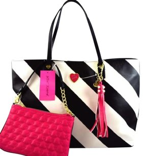 Betsey Johnson All That Jazz Tote in Black