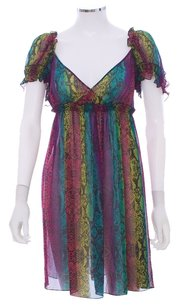 Betsey Johnson short dress Multi Empire Waist on Tradesy
