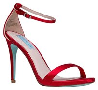 Betsey Johnson Red Sandals