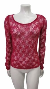 Betsey Johnson Top Raspberry