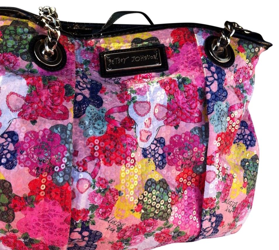 Betsey Johnson Floral Tote Bag On Sale 55% Off | Totes On Sale At Tradesy