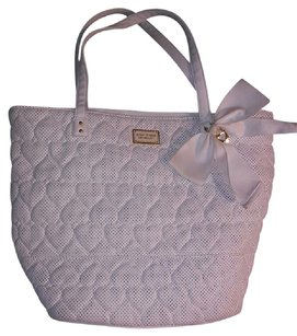Betsey Johnson Tote in White