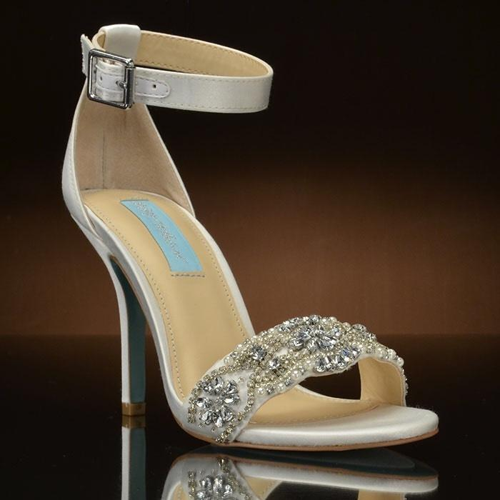 Betsey Johnson Sb-gina Silver Wedding Shoes On Tradesy