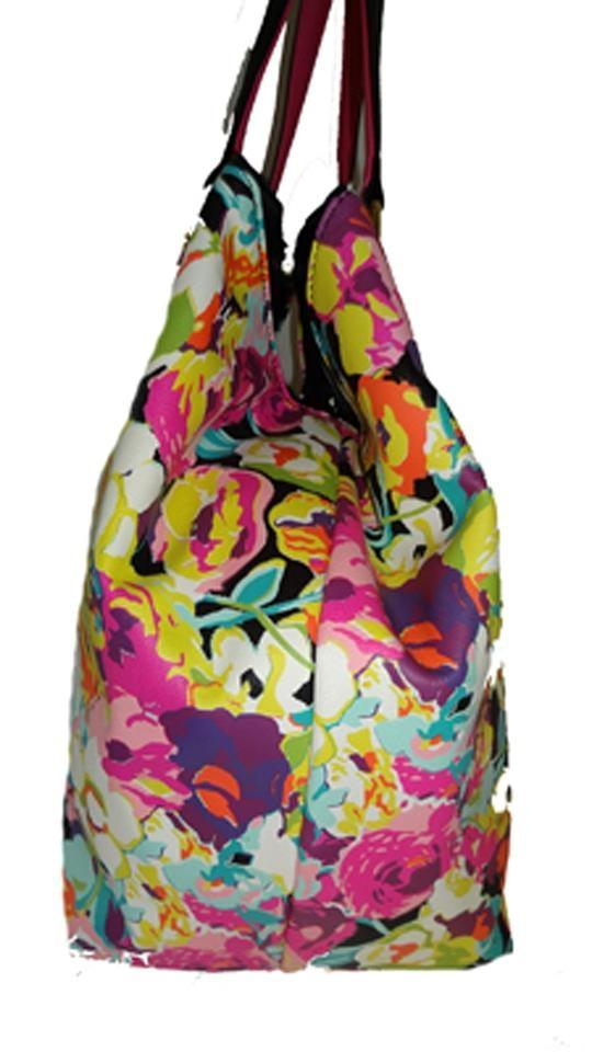 Betsey Johnson Trap/ Flash Tatoo Stickers/ FLORAL Tote Bag | Totes On Sale