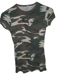 Better B. B Camoflage Army T Shirt Green Combat
