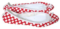 Bettye Muller POLKA DOT RED WHITE Flats