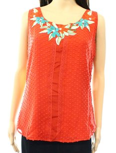 Beyond Vintage New With Tags Silk Top