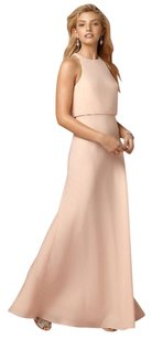 BHLDN Jill Stuart Iva Crepe - ISO Blush Bridesmaids Anthropologie Dress