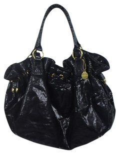 Big Buddha Womens Satchel in Black