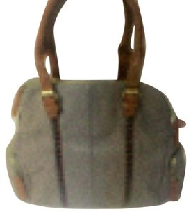 Big Buddha Satchel in Grey