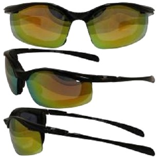 Birdz Eyewear Birdz Snipe Motorcycle Glasses with REVO Orange Smoke Shatterproof Anti-Fog Polycarbonate Lenses and Removable Wind Blocking Foam