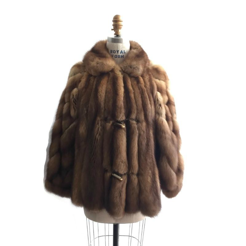 Birger Christensen Honey Sable Jacket Fur Coat Size 8 (M) - Tradesy for Sable Fur Cape  173lyp