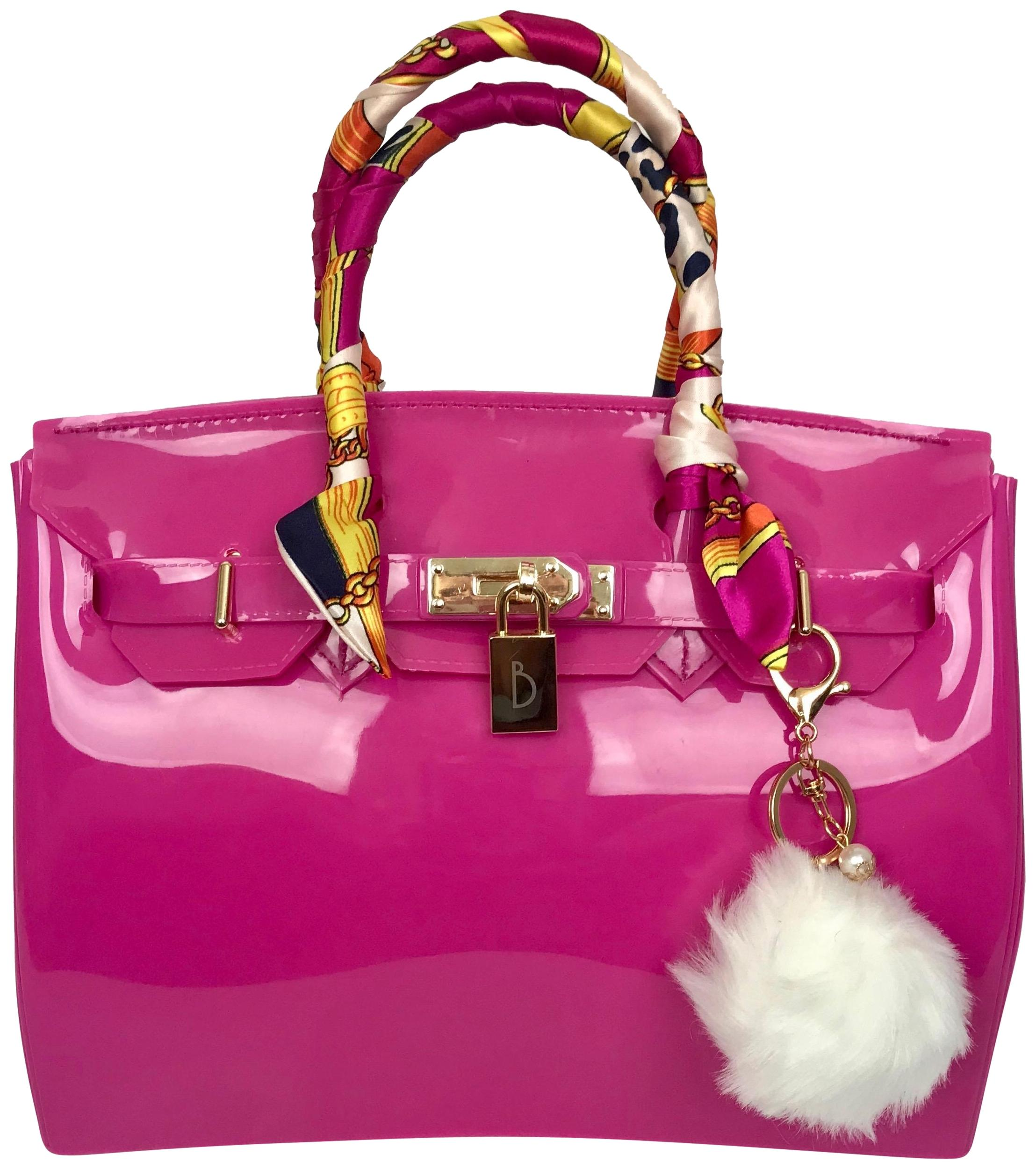 81ae84b1c51a ... low price jelly couture birkin hermes beach tote in hot pink 42344 08f71
