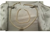 BJS Reduced Price Cultured Pearl necklace & Braclet 6MM